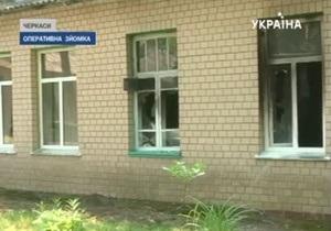 Во время пожара в черкасской больнице погиб пациент