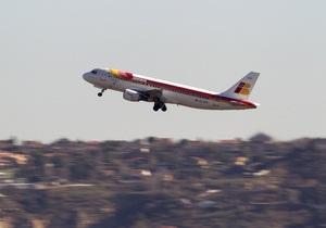 Голый пассажир сорвал рейс испанского лайнера