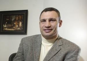 Виталий Кличко открыл свой блог на Корреспондент.net