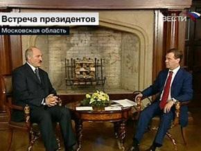 Медведев и Лукашенко обсудили финансовый кризис