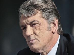 Ющенко ветирует закон о выделении миллиарда на борьбу с эпидемией