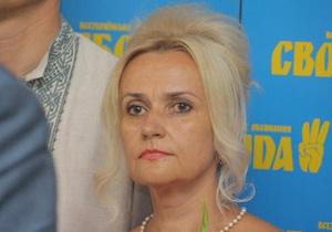 Фарион призывает украинцев  затопить Титаник украинофобской власти