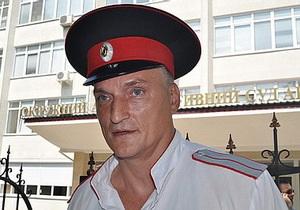 Атаману крымских казаков грозит выдворение из Украины