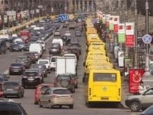 На 20 улицах Киева появятся полосы для общественного транспорта