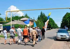 Врадиевка - изнасилование - протесты - МВД: Во Врадиевке сегодня митинговали около 20 человек, преимущественно жители соседних регионов