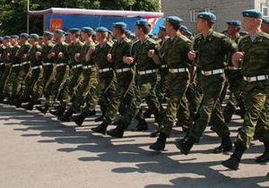 Российский спецназ отправляется в Киев для участия в параде