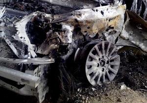 МВД: В Киеве активизировались поджигатели автомобилей