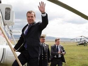 Медведев прибыл с двухдневным визитом в Монголию