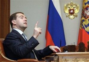 Медведев выступил против размещения оружия в космосе