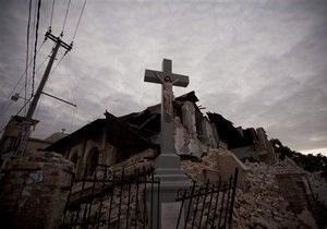 На Гаити в братской могиле похоронили около семи тысяч жертв землетрясения