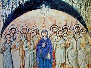 Православные отмечают Духов день