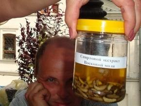 Фотогалерея: Ярмарка в Лавре. Мед, вино, личинки моли и мертвые пчелы