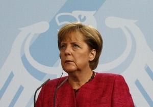 Меркель призвала помнить, кто виноват в финансовом кризисе ЕС