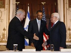 Обама встретился с лидерами Израиля и Палестины