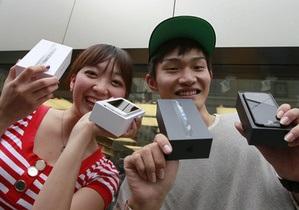 Фотогалерея: Пятый пошел. В мире стартовали продажи iPhone 5
