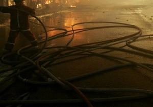 В Киеве пожарные спасли бездомного