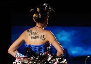 Trash Fashion. В Македонии прошел показ одежды из мусора