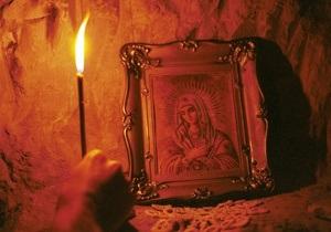 Небесный молебен. Священники провели службу над Харьковской областью