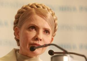 Тимошенко еще не решила, как действовать во время визита Медведева в Украину