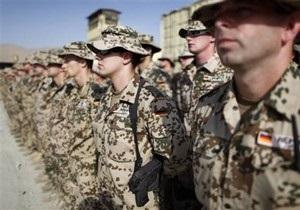 В Германии воинский призыв приостановили на неопределенный срок