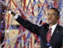 Фотогалерея: Звездный час Барака Обамы