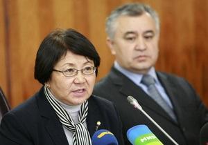 Заместитель Отунбаевой, курировавший конституционную реформу, подал в отставку