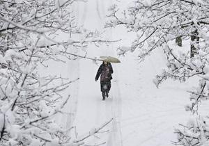 Прогноз погоды: Украину засыпет мокрым снегом