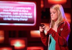 В США треть подростков отправляют более ста sms-сообщений в день