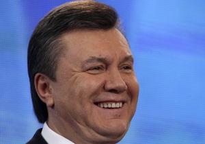 Янукович рассчитывает сесть в кресло президента на десять лет
