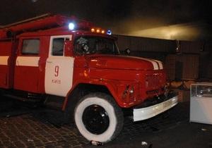 Пожар в Житомирской области: три человека погибли, среди них двое детей