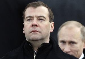 Медведев уволил семерых генералов МВД РФ