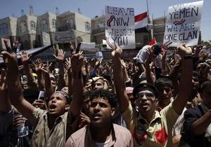 В Йемене силы безопасности разгромили палаточный городок: 20 погибших