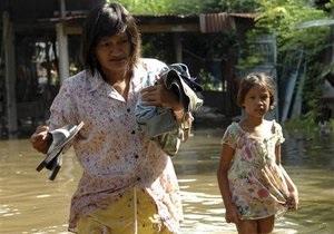 Жертвами наводнения в Таиланде стали 206 человек