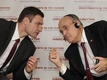 Джулиани намерен сотрудничать с Кличко в вопросах реформ, а не выборов