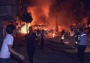 В Турции в результате взрыва склада боеприпасов погибли 25 военных