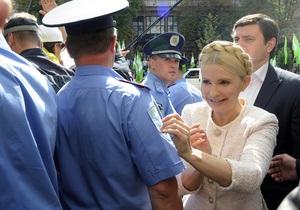 Тимошенко: Янукович дал указание арестовать меня до Дня Независимости