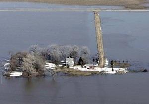 В Украине затопило 68 городов и сел - ГСЧС
