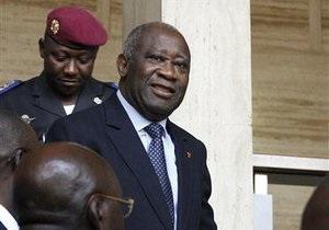 В Кот-д Ивуаре заявили, что арестованный экс-президент предстанет перед судом