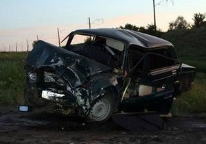 В Донецкой области при столкновении Жигулей и Москвича погибли три человека