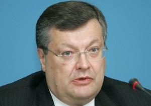 Грищенко: Украина готова рассмотреть возможность предоставления самолетов для транспортировки войск НАТО