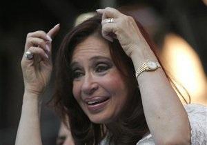 Президент Аргентины попала в больницу, разбив голову