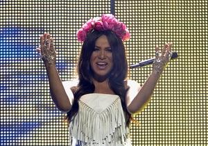 Украинская певица Гайтана выступила в финале Евровидения-2012