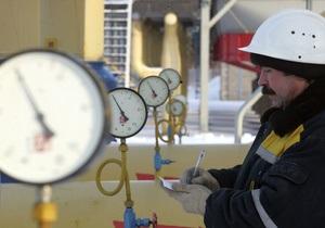 За восемь месяцев 2012 года Украина заплатила России за газ больше девяти миллиардов долларов