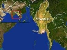 В Мьянме прогремели два взрыва