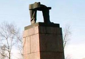 Одесские коммунисты обвинили в разрушении памятника Ленину  румынскую агентуру