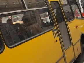 В Днепропетровске мужчина угнал маршрутку и устроил погоню с ДАИ