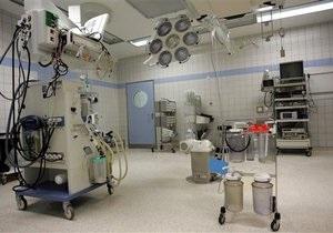 Китайские хирурги, спасаясь от пожара, оставили на операционном столе пациента