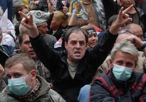 Фотогалерея: Надежда умирает последней. Сторонники Тимошенко в осаде Печерского суда