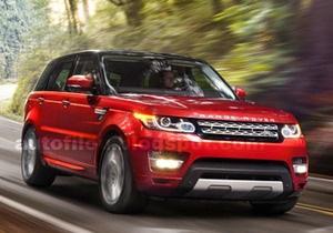 В интернете появились фотографии нового Range Rover Sport менее чем за сутки до премьеры