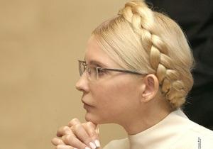 Суд по делу Тимошенко перенесен на 11 июля